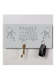 personalised-family-key-hanger