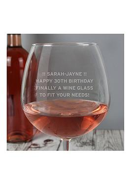 the-personalised-memento-company-personalised-large-wine-glass