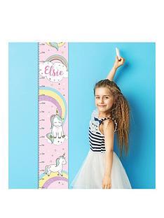 personalised-unicorn-height-chart