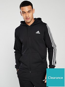 adidas-3s-full-zip-upnbsphoodie-ndash-black