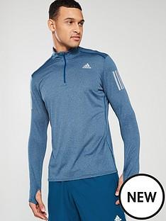 adidas-adidas-response-long-sleeve-zip-running-t-shirt