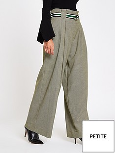 ri-petite-check-wide-leg-trousers--grey