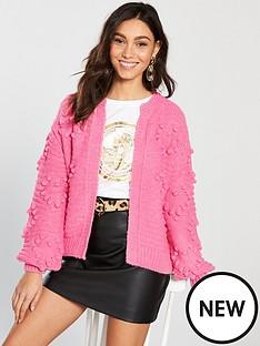 river-island-chunky-cardigan-pink