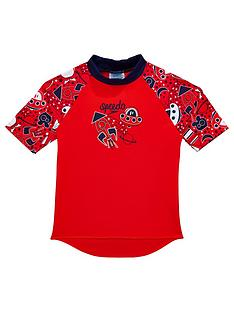 speedo-toddler-boys-essential-sun-topnbsp--red