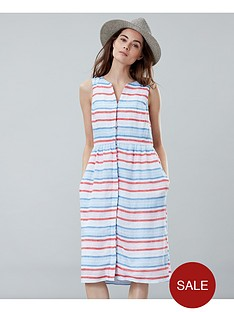 joules-lisia-linen-dress-multi