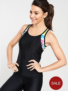michelle-keegan-cut-out-back-printed-gym-vest-black-multi