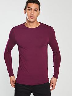 3b3148a8e85 River Island Long Sleeve Muscle T-Shirt