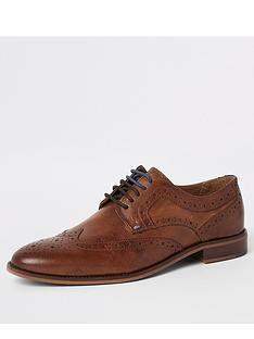 river-island-ruxley-brown-brogue