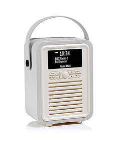 view-quest-vq-retro-mini-dabdab-digital-radio-amp-bluetooth-speaker-light-grey