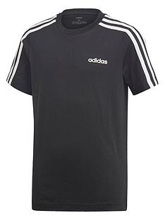 adidas-boys-3-stripe-short-sleeve-t-shirt-black