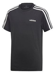 adidas-boys-3-stripe-short-sleeve-t-shirt-black
