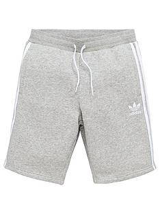 adidas-originals-boys-fleece-short-grey
