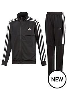 adidas-boys-tiro-tracksuit-black