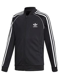 adidas-originals-childrens-superstar-zip-front-top-black