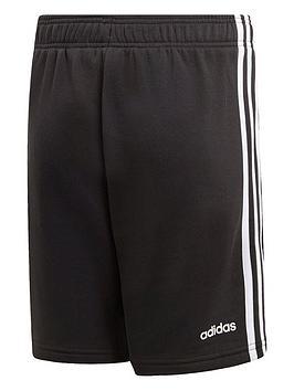 adidas-boys-3-stripe-knit-short