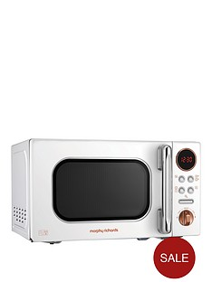 morphy-richards-20-litre-microwave-white-rose-gold
