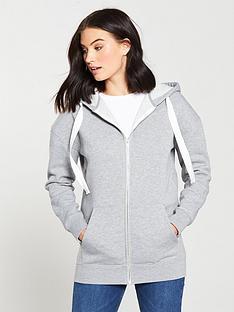 v-by-very-basicnbsplongline-zip-through-hoodienbsp--grey