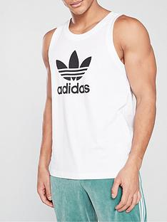 adidas-originals-trefoil-tank-top-white