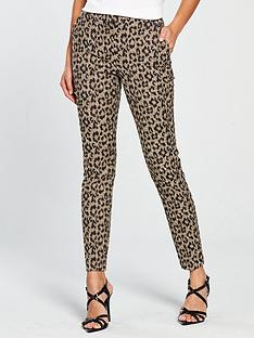 v-by-very-animal-jacquard-trouser