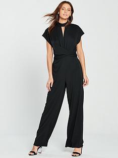 choker-twist-front-wide-leg-jumpsuit-blacknbsp