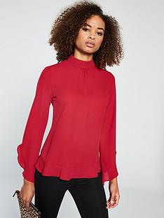 v-by-very-frill-blouse
