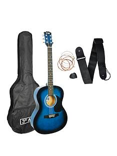 3rd-avenue-acoustic-guitar-pack-blueburst-with-free-online-music-lessons