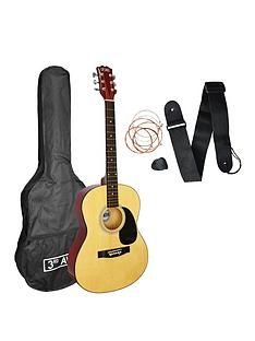 3rd-avenue-acoustic-guitar-pack-natural-with-free-online-music-lessons