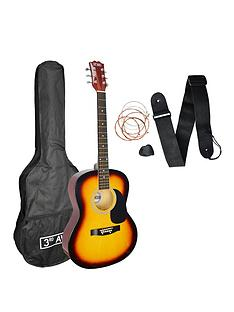 3rd-avenue-acoustic-guitar-pack-sunburst-with-free-online-music-lessons
