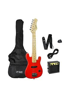 3rd-avenue-junior-electric-guitar-pack-red-with-free-online-music-lessons