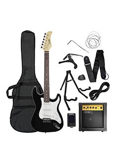 rocket-electric-guitar-pack-in-black-with-free-online-music-lessons