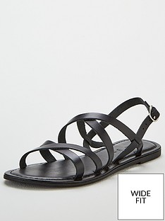 v-by-very-hannah-strappy-leather-flat-sandal