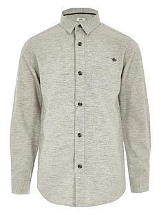 river-island-boys-grey-long-sleeve-herringbone-shirt