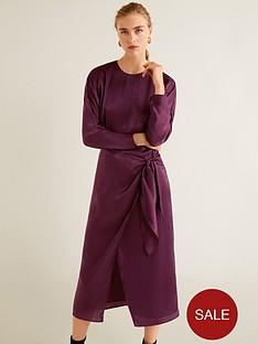 mango-wrap-over-midi-dress-burgundy