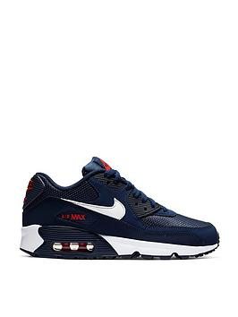 finest selection ce3aa 40ecc Nike Air Max 90 Ltr Bg Junior Trainers