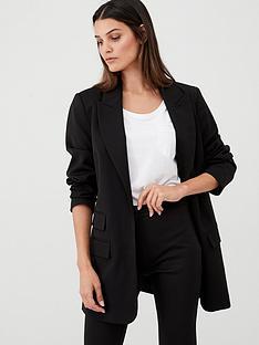 cb5627681e5cd5 V by Very Longline Workwear Jacket