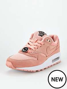 f03d3fe89e3 Nike Air Max 1 Hand Bg Junior Trainers