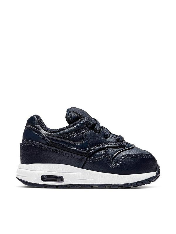 Air Max 1 Bt Infant Trainers Navy