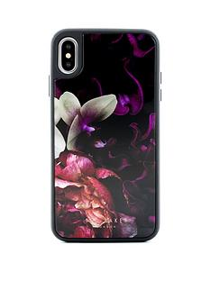 ted-baker-iphone-xs-max-glass-inlay-splendour-black