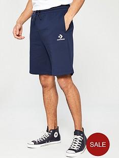 converse-star-chevron-knit-shorts-navy