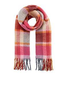 accessorize-covent-garden-fluffy-check-scarf-ndash-multi