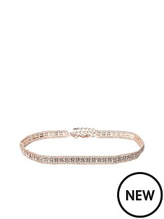 river-island-river-island-sparkle-choker-necklace-rose-gold