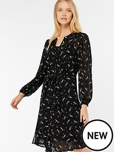 monsoon-ziggy-star-print-tie-front-dress-blacknbsp