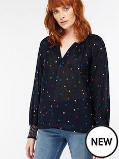 monsoon-larissa-star-print-blouse-navynbsp