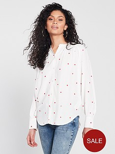 whistles-heart-embroidered-blouse