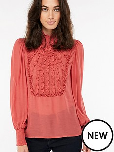 monsoon-elizabeth-ruffle-high-neck-blouse-pink