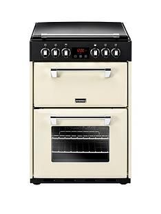 stoves-richmond-600e-60cmnbspwide-electric-cooker-with-optional-connection-cream
