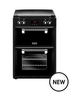 stoves-600ei-60cm-richmond-electric-cooker-with-optional-connection-black