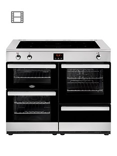 belling-100ei-cookcentre-100cm-electric-range-cooker-with-optional-connection-stainless-steel