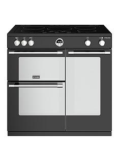 stoves-sterling-s900ei-90cm-wide-electric-range-cooker-with-optional-connection-black