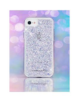 40ec47326 Case-Mate Twinkle Iridescent Glitter Case for iPhone 8 (also fits iPhone 7/6 /6S) | littlewoodsireland.ie